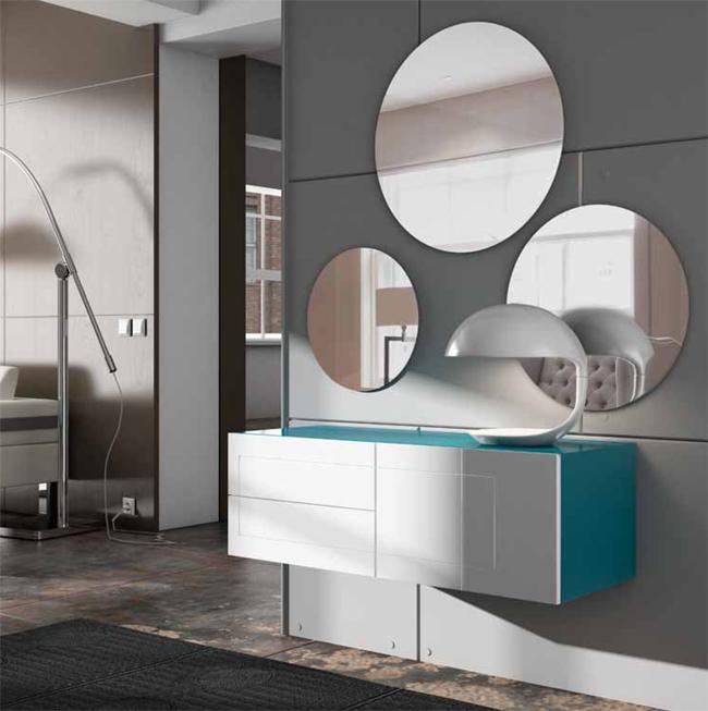 Consola alexa vttas con espejos flash dise o interiorismo - Recibidores de diseno italiano ...